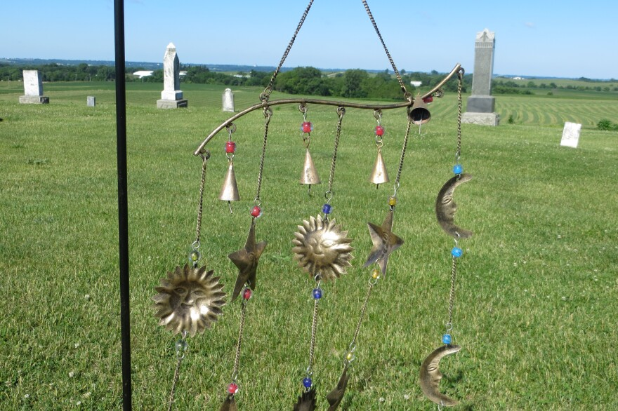 The Sept. 24th celebration will include the hanging of 60 more chimes.