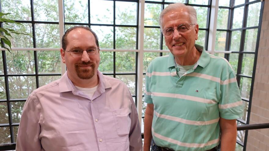 Jeff Chernoff, left, and Steve Weiler