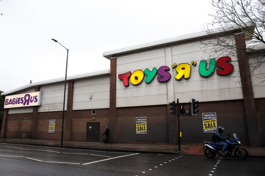 Toys R Us announced last month that it would close its stores in the United Kingdom, like this one in London, and across the U.S.