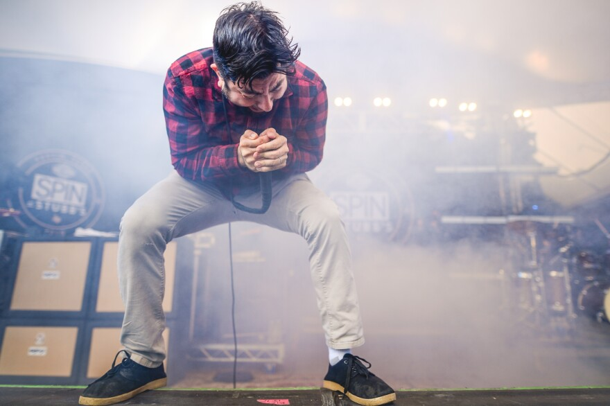 Chino Moreno, who has led Deftones since it formed in Sacramento nearly 30 years ago, performs with the band at SXSW 2016 in Austin, Texas.