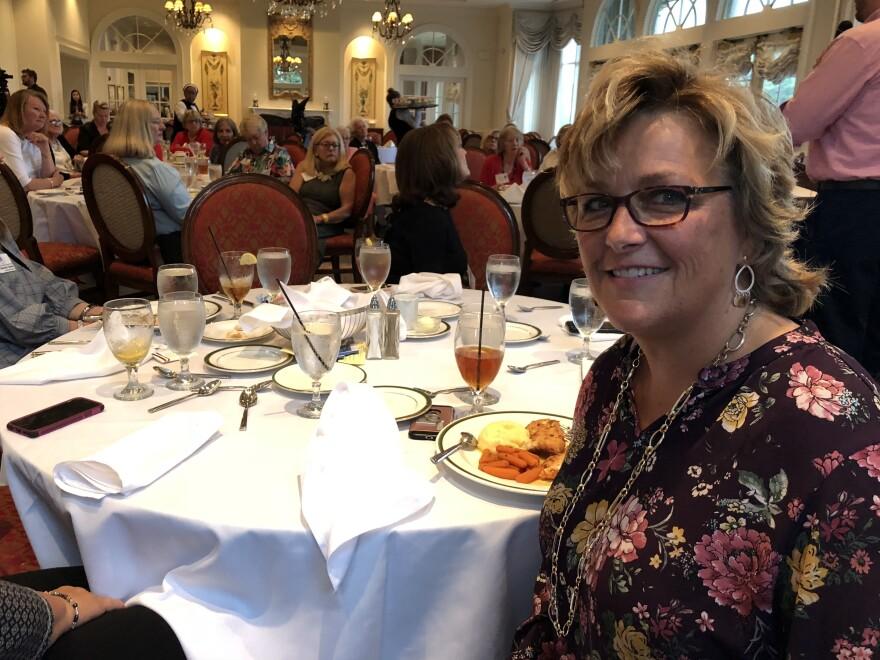 Deb O'Hagan, 60, like many suburban married women, identifies as a Republican.