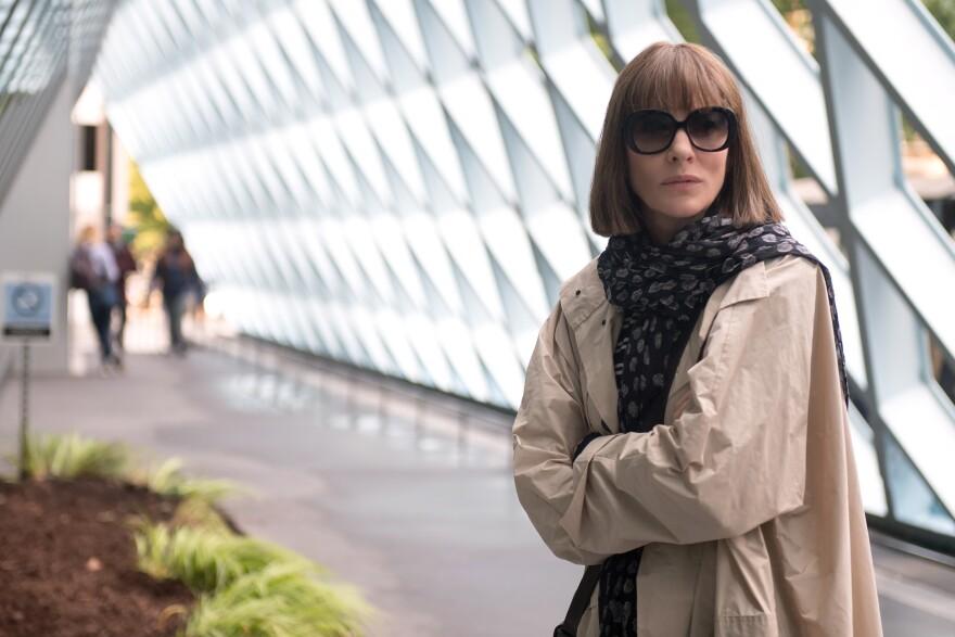 Cate Blanchett in <em>Where'd You Go, Bernadette</em>.