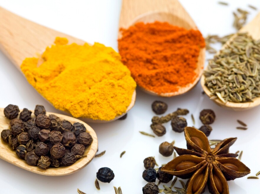 Research from Penn State finds heavily spiced meals — think chicken curry with lots of turmeric, or desserts rich in cinnamon and cloves — may do the heart good.