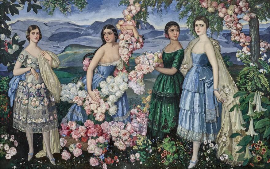 """Flores Mexicanas,"" 1914-19, by Alfredo Ramos Martinez."