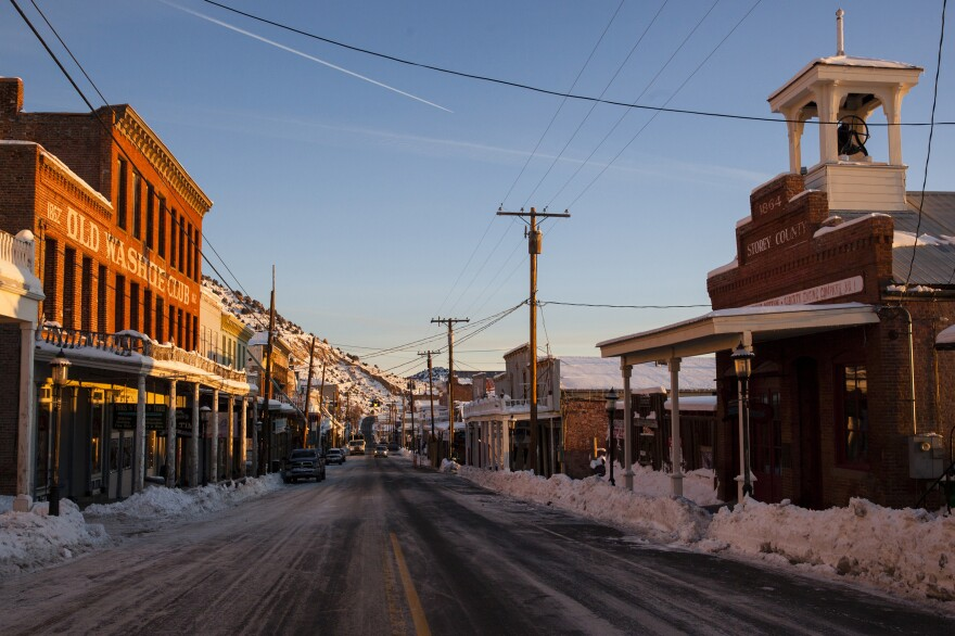 The county seat, Virginia City, was once a silver and gold mining town. It looks like something out of the late 1800s.