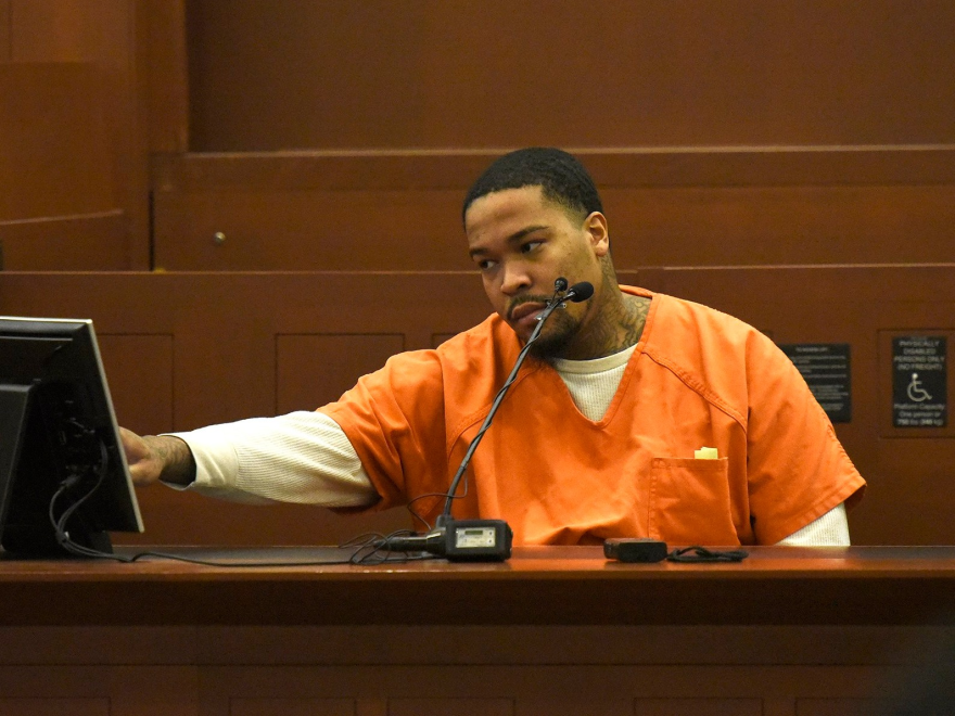 Kendell Bowden testifies that he was with Borum the night Justin Carr was fatally shot.