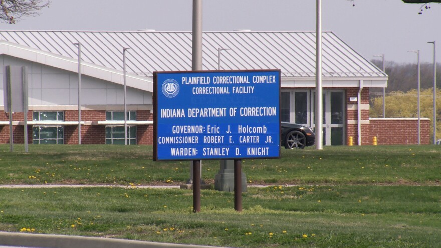 """One inmate at the Plainfield Correctional Facility told his wife in a recorded call that social distancing is impossible. """"At this very moment, I can reach out and touch somebody,"""" he said. """"We've got a reason to be scared for our lives."""""""