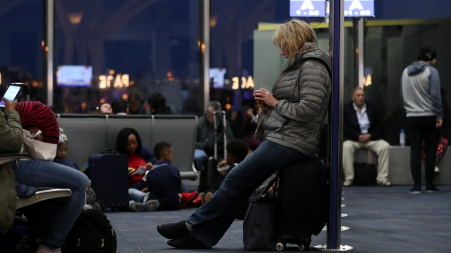 Southwest Airlines was among the airlines affected by a contractor's computer outage Monday, forcing hundreds of flights to be delayed.