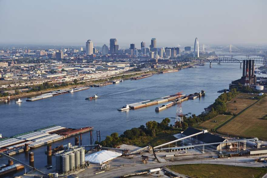 The St. Louis Freightway District aims to facilitate rail, river and interstate transport of goods in and out of the region.