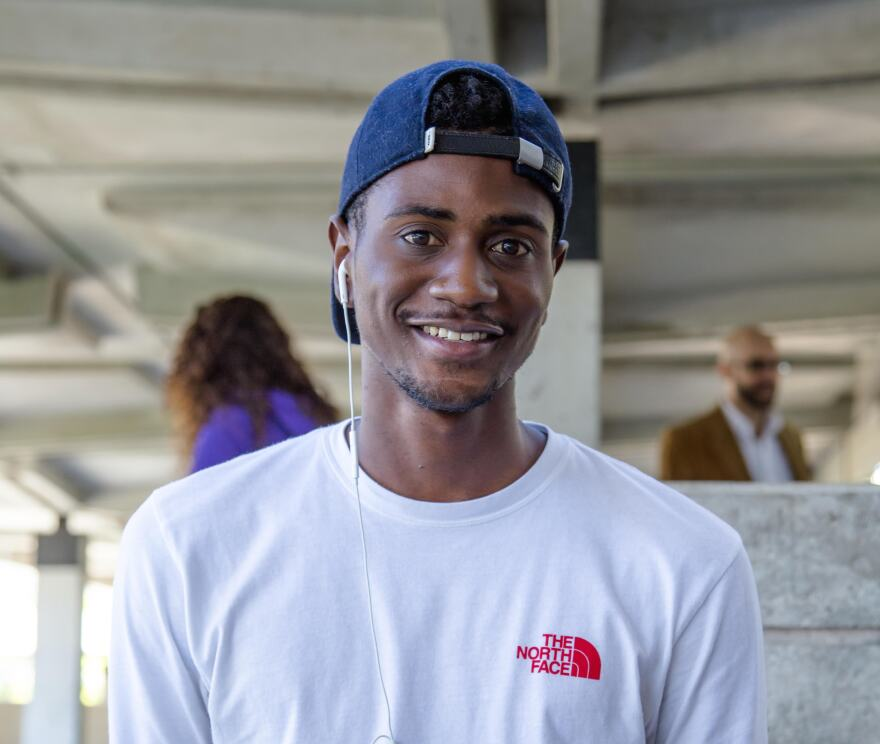 "Deon Richards is a student at Miami Dade College's Kendall Campus. When he was getting ready to leave foster care, on the eve of his 18th birthday, he says he was worried about things as simple as ""how am I going to go grocery shopping?"""