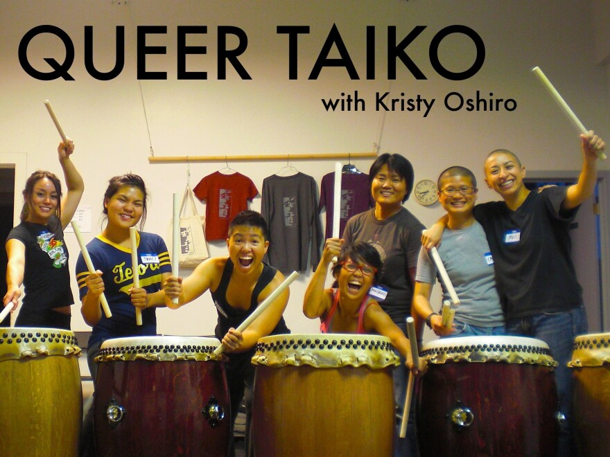 Queer Taika, a group directed by Kristy Oshiro, to perform at Tadaima.