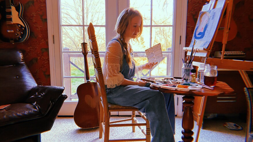 Margo Price at home