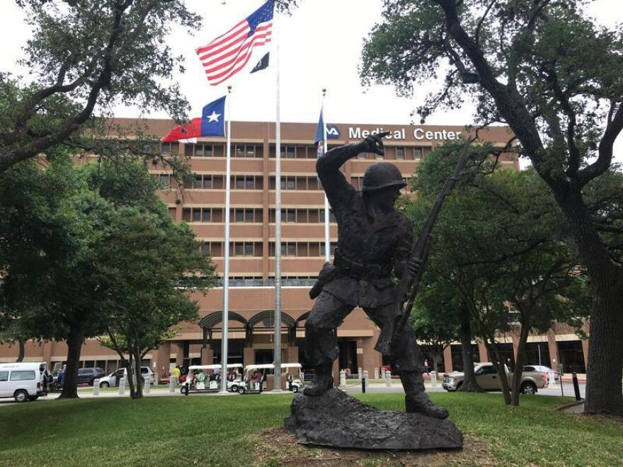 The South Texas VA hospital in San Antonio.