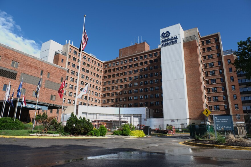 The VA Medical Center in Kansas City, Missouri. In 2016, 69 percent of veteran suicide deaths resulted from a firearm.