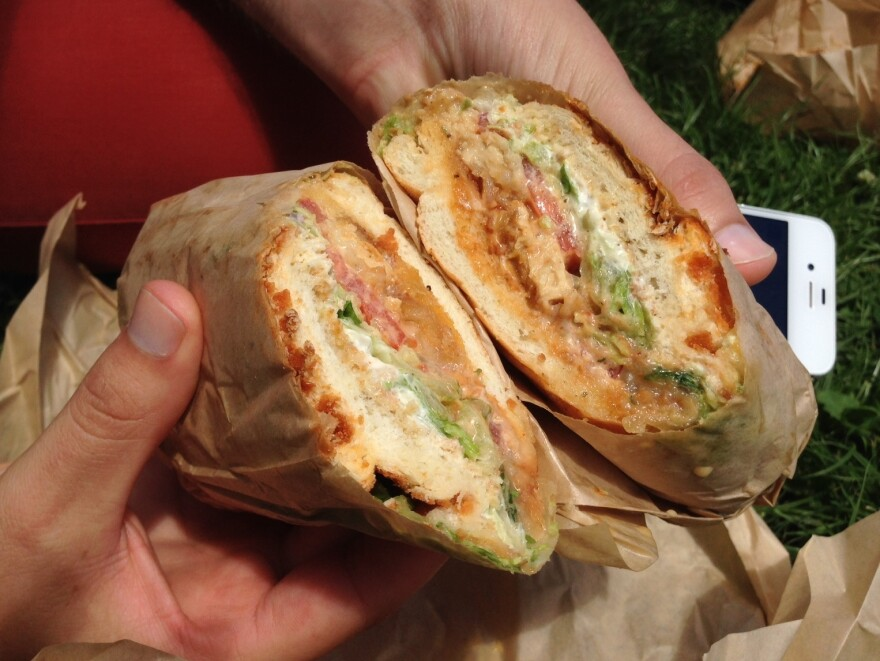 Urban Dictionary will misinform you about the ingredients of this sandwich.