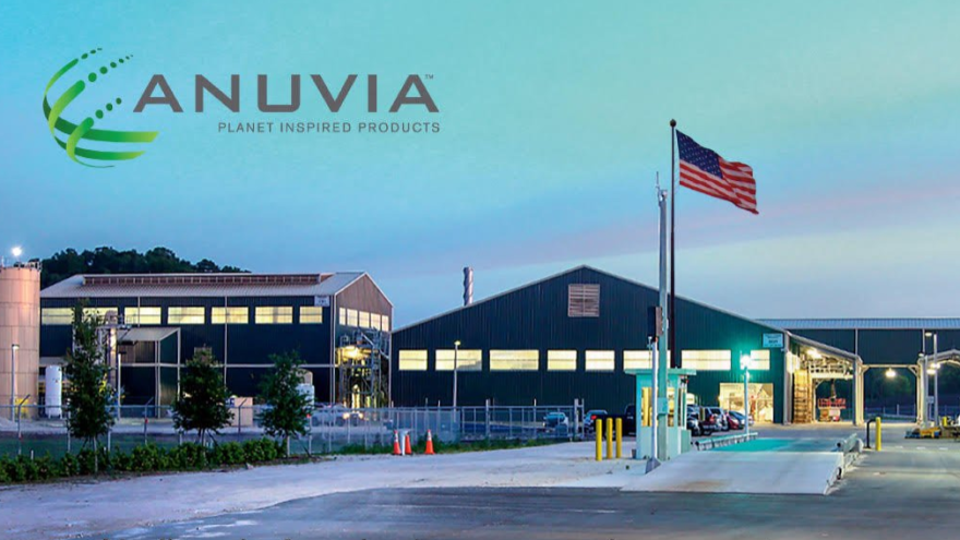 Anuvia's fertilizer processing plant in Zellwood, Orange County.