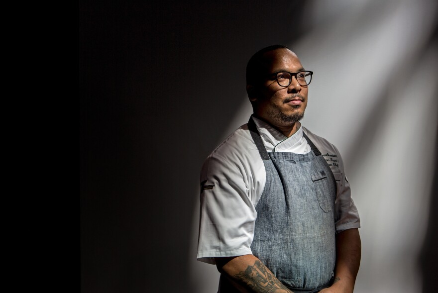 Sweet Home Cafe executive chef Jerome Grant