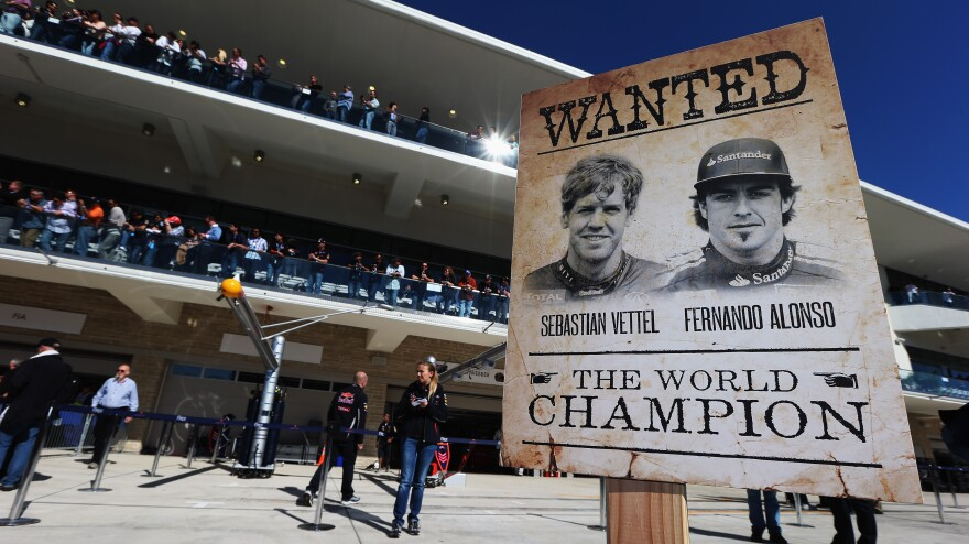 Coming into the U.S. Grand Prix, Sebastian Vettel and Fernando Alonso are the two remaining contenders for the 2012 World Championship for drivers.