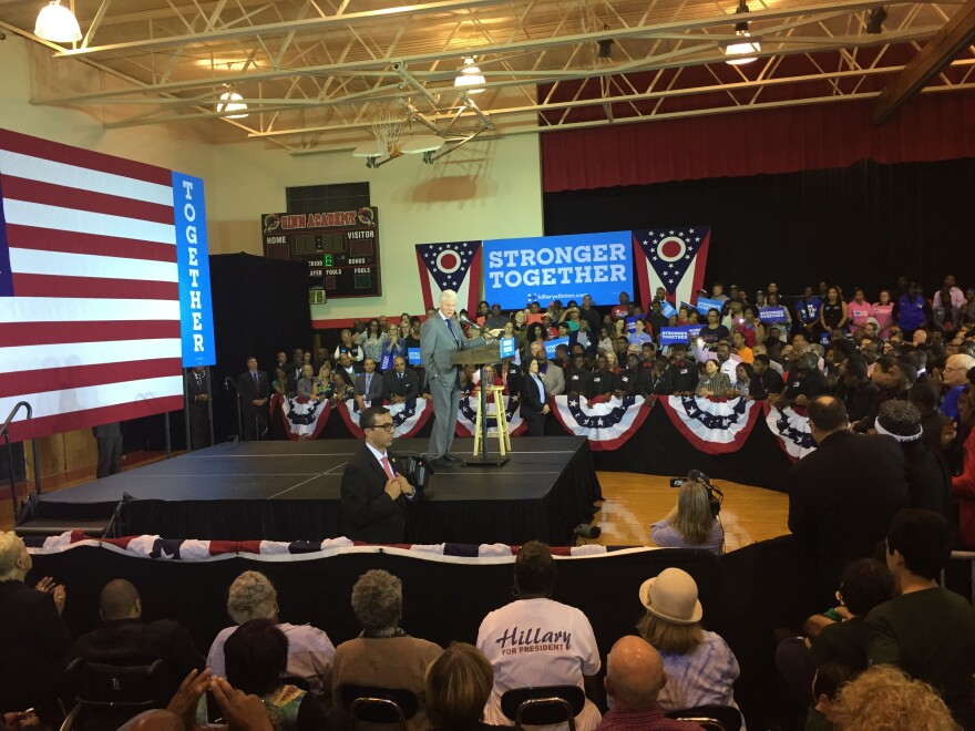 Bill Clinton in Cleveland