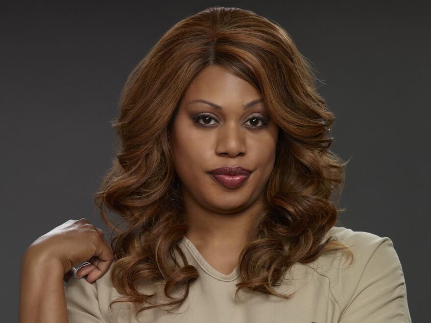 Laverne Cox of Netflix's <em>Orange is the New Black</em>.