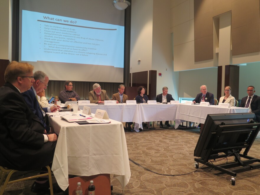 photo of Third Frontier Commission panel