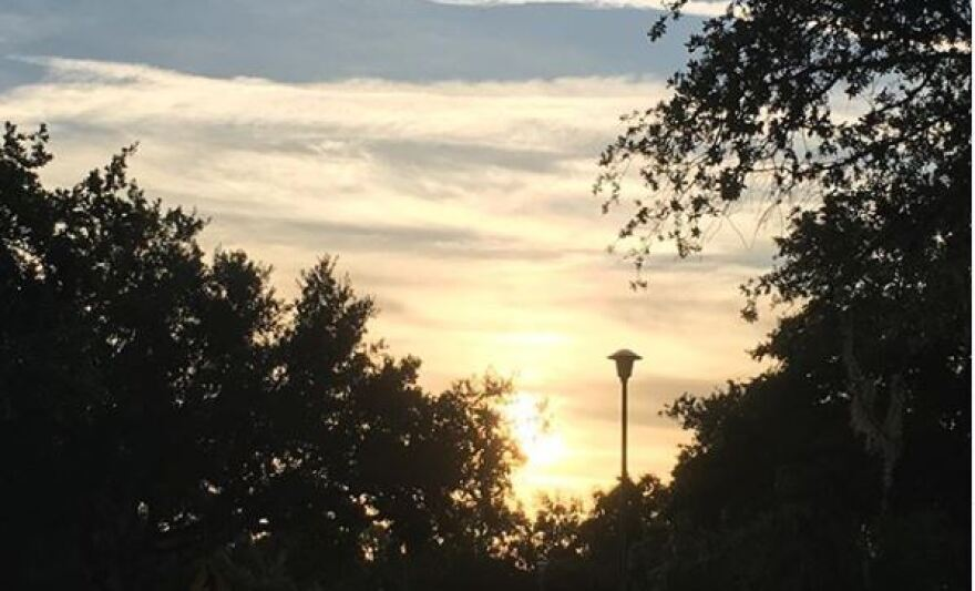 After a stormy week, sunshine begins to emerge in Tampa early Friday morning.