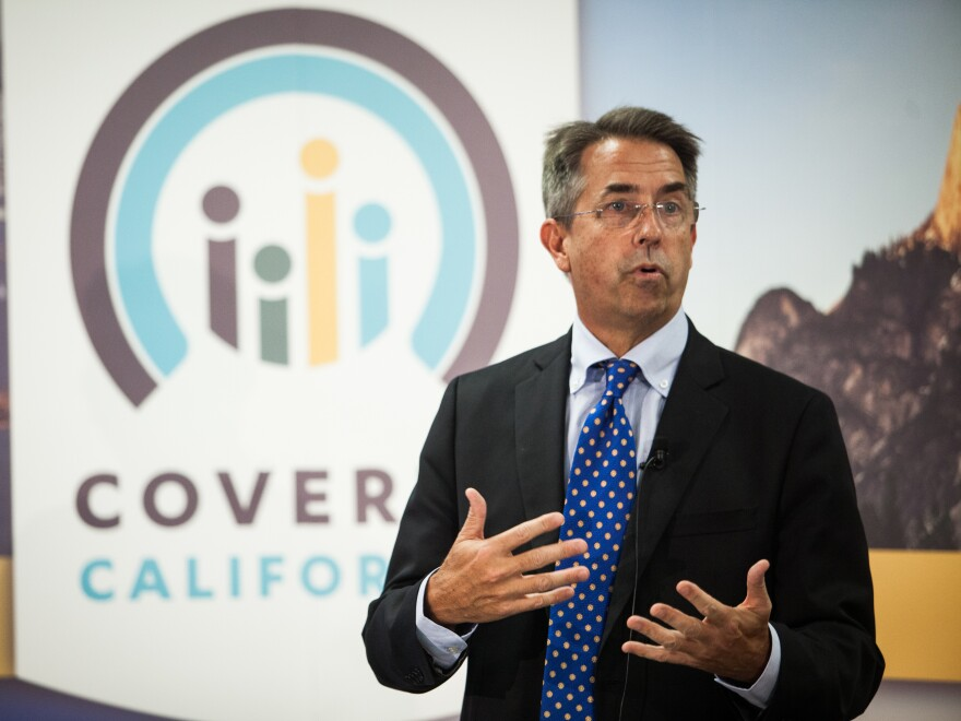 Peter Lee, the executive director California's health insurance marketplace, says he's pleased by the number of young people already signing up.