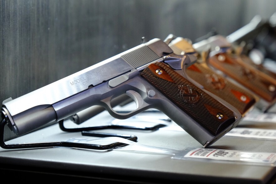 Nine states and Washington, D.C., currently have licensing requirements for gun purchases.