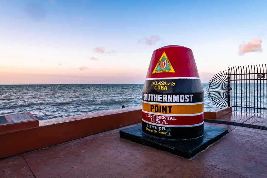 Checkpoints on Key West that barred visitors from coming into the Florida Keys will be removed next month.