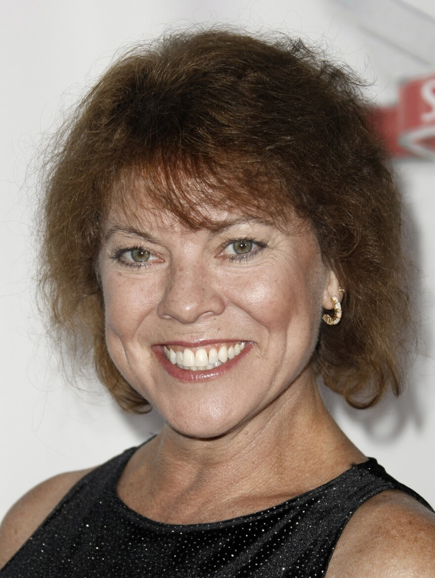 Erin Moran arrives at the Fox Reality Channel Really Awards in Los Angeles in 2008.