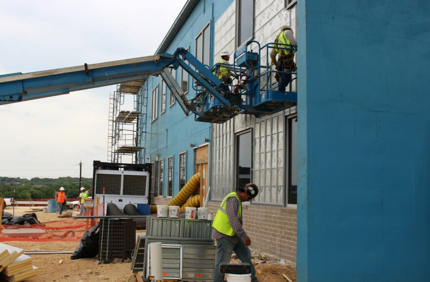 Davenport High School in Comal ISD is slated to open in the fall of 2020.