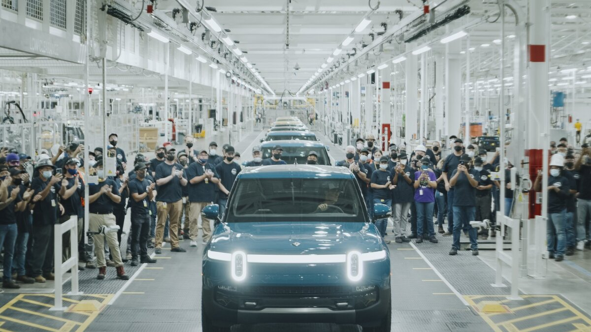 Production Begins: Rivian Electric Truck First To Market