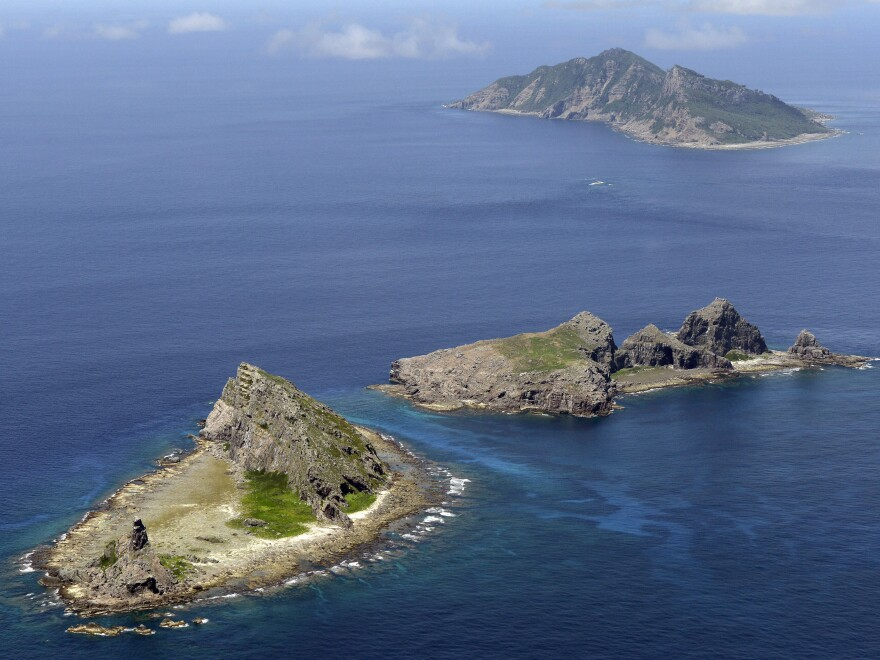 A group of disputed islands in the East China Sea, known as Senkaku in Japan and Diaoyu in China, sit inside China's self-declared air identification zone, rankling the U.S., Japan and others in the region.
