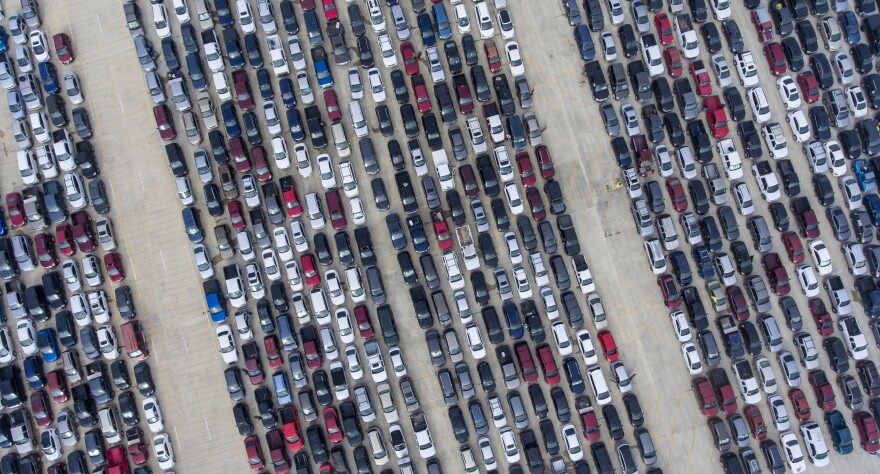 COVID-19: ECONOMY: Food Distribution In Texas