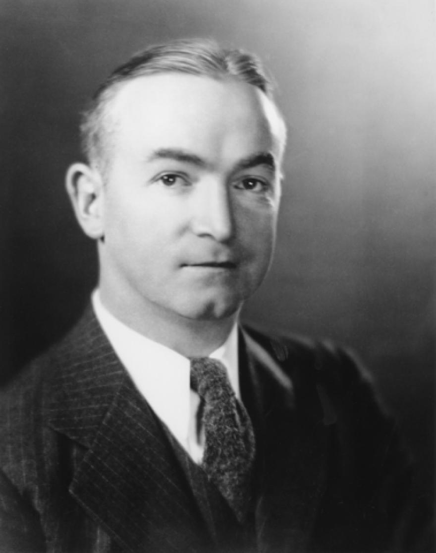 Governor Homer Holt (1898-1976).