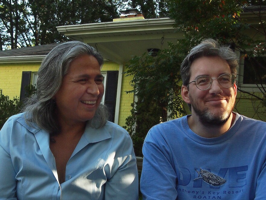 Entomologists Alma Solis and Jason Hall specialize in moths and butterflies, respectively.