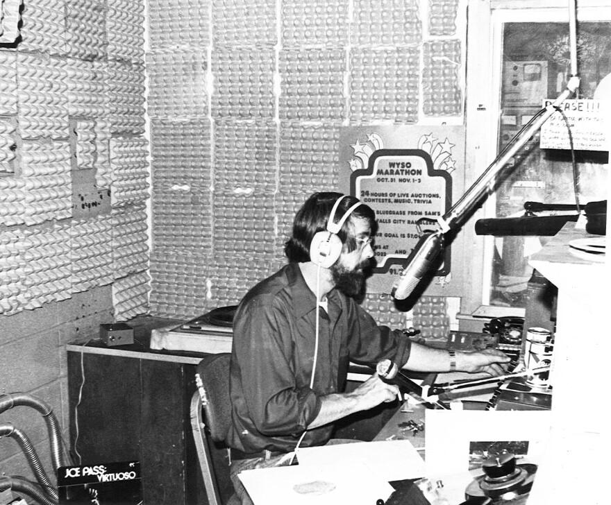 John McChesney at WYSO in the 1970s