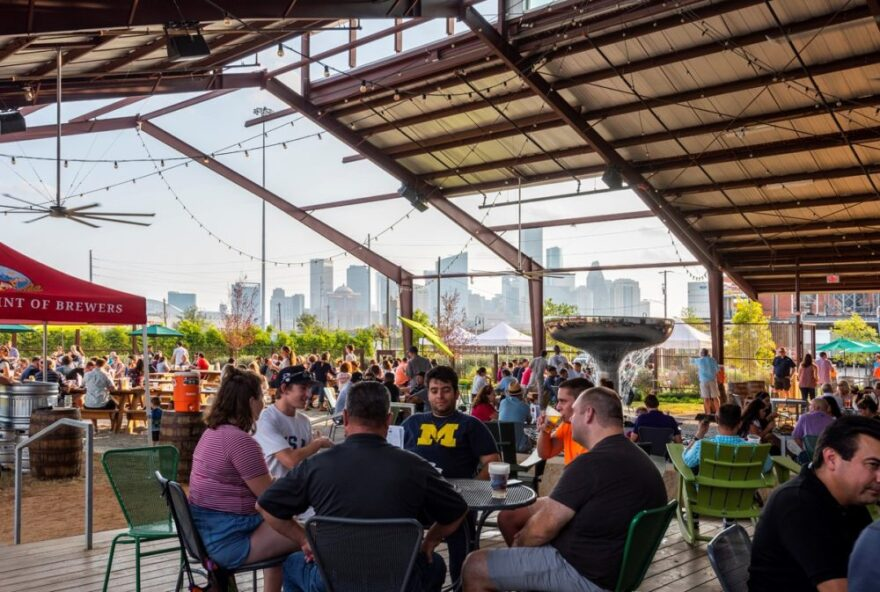 Proposed legislation would allow craft breweries, like Saint Arnold's in Houston, to sell beer-to-go at their taprooms.