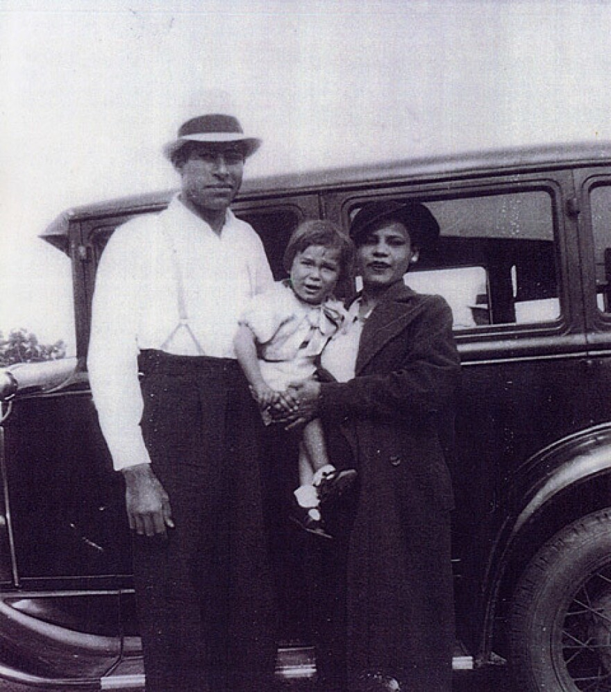In 1947, Gonzalo and Felícitas Méndez, pictured here with their daughter, Sylvia, battled in the courts for the right to equal education in California.