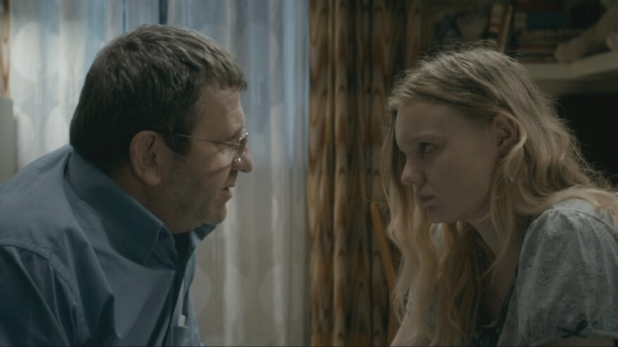 Romeo (Adrian Titieni) and Eliza (Maria-Victoria Dragus) in <em>Graduation</em>, writer-director Cristian Mungiu's tale of the tiny, everyday compromises that destroy the soul.