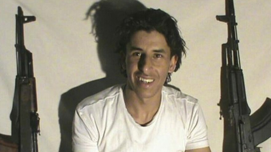 This image, which is taken from a website associated with the self-declared Islamic State, purports to show Tunisian gunman Seifeddine Rezgui.