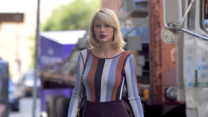 """Taylor Swift said of the former radio host whom she has accused of groping her: """"I'm being blamed for the unfortunate events of his life that are a product of his decisions."""" A judge has thrown out the man's lawsuit against her."""