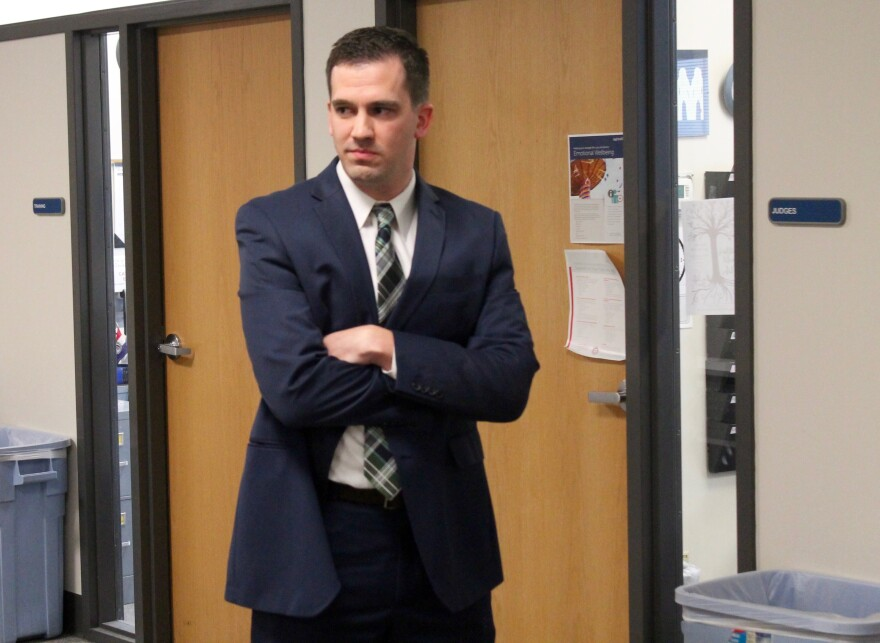St. Louis County Board of Elections director Eric Fey was suspended without pay on Tuesday.