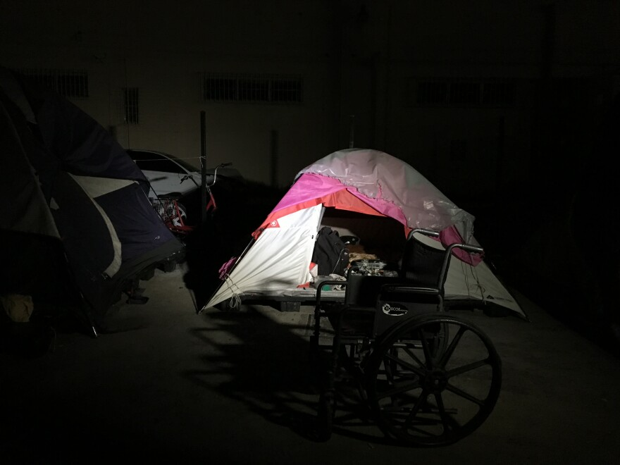 The Miami-Dade County Homeless Trust is trying to shut down an encampment of sex offenders  on the edge of Miami and Hialeah.