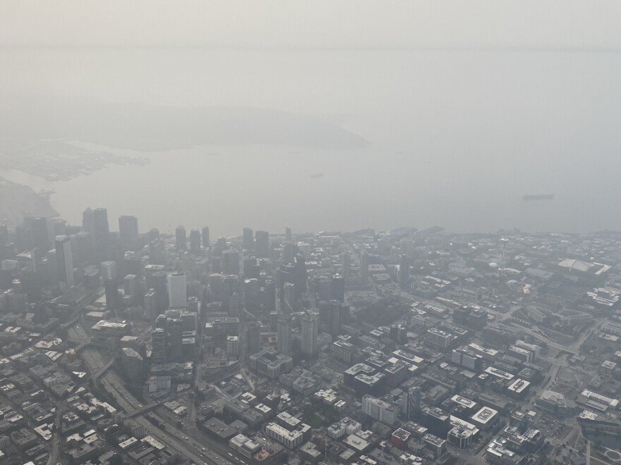 In early September, Seattle, Wash., had some of the worst air quality in the world because of wildfire smoke. The city is among the first to create smoke shelters for the most vulnerable.