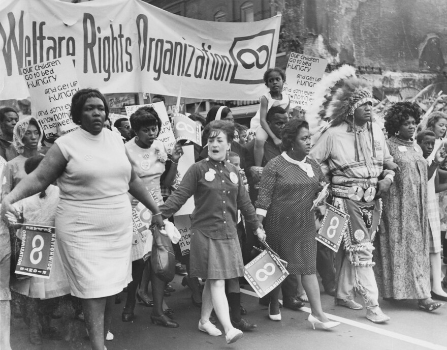"""At its height, the National Welfare Rights Organization had more than 25,000 dues-paying members. Some people have called it """"the largest black feminist organization in American history."""""""
