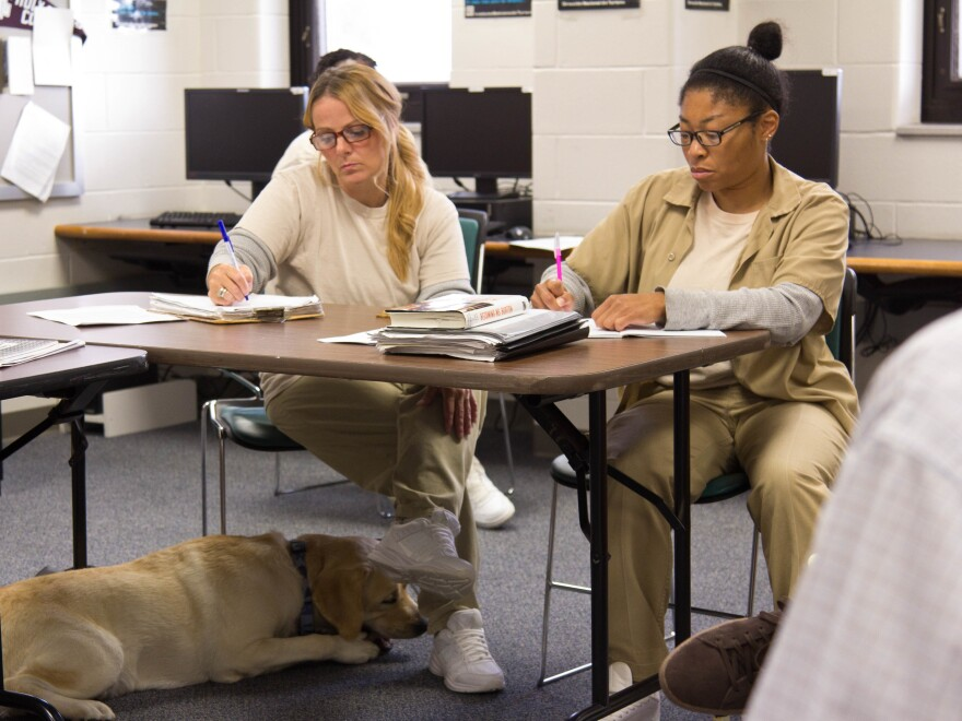 Vanessa Thompson (left) came up with an idea for rehabbing Indiana's abandoned homes that would also help felons re-entering society rebuild their lives.