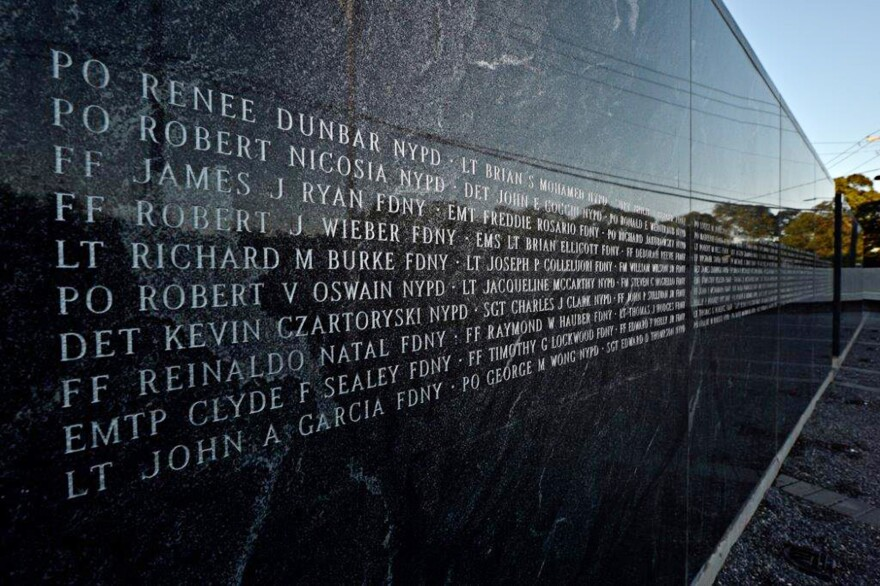 The 9/11 Responders Remembered Memorial in Nesconset, Long Island, N.Y. John Feal, a first responder at the World Trade Center, created the memorial for people who died of illnesses tied to work at ground zero.