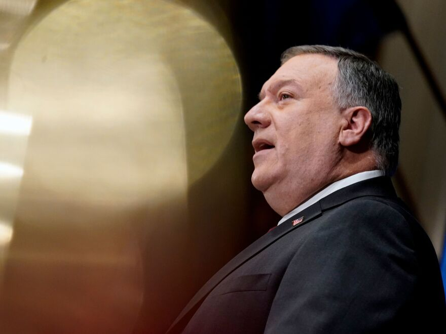 US Secretary of State Mike Pompeo earlier this week in Washington, D.C.
