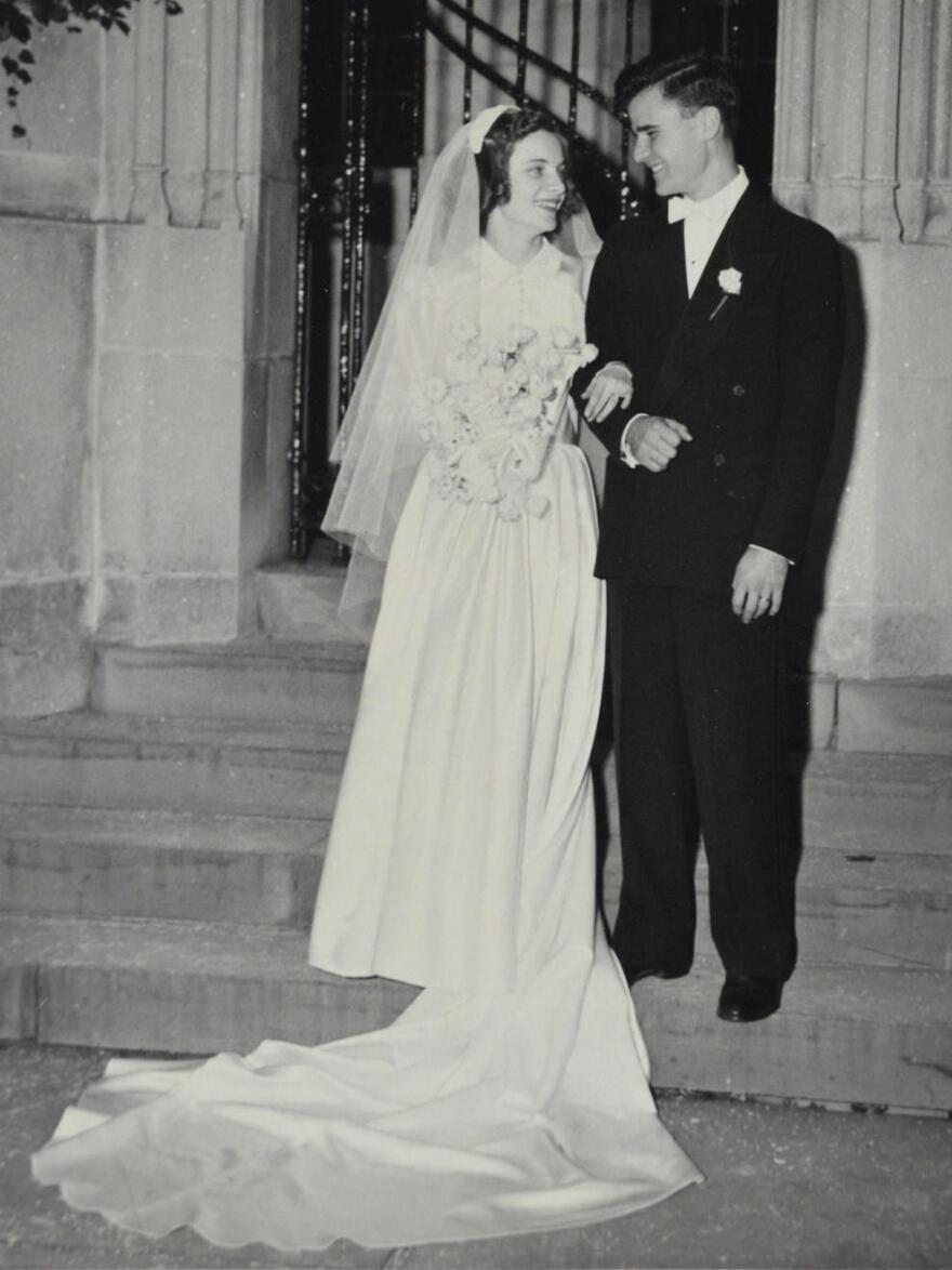 Marion and John Austin of Rutland were married on Oct. 7, 1950. She was 19 and he was 23. Today, John resides at a nursing home, where, before the coronavirus pandemic, Marion visited him every day.
